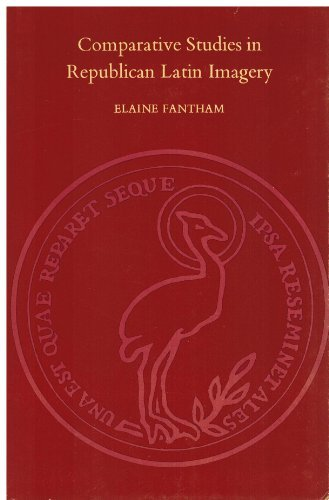 Comparative Studies in Republican Latin Imagery.: Fantham, Elaine