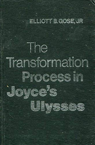 9780802054920: Transformation Process in Joyce's