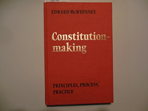 9780802055538: Constitution-Making