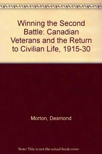 Winning the Second Battle: Morton, Desmond and Wright, Glenn