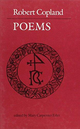 Robert Copland: Complete Poems: Copland, Robert