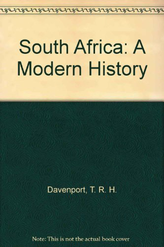 9780802059406: South Africa: A Modern History