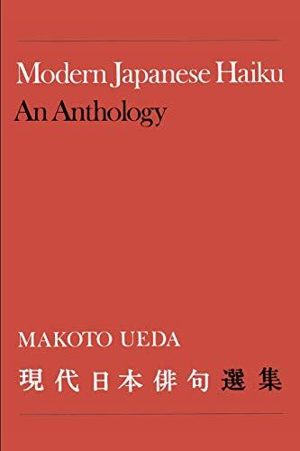 Modern Japanese Haiku: An Anthology: Ueda, Makoto