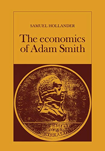 9780802063021: Economics of Adam Smith