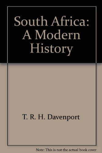 9780802063120: South Africa: A Modern History