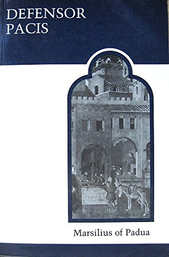 9780802064127: Defensor Pacis (MART: The Medieval Academy Reprints for Teaching)