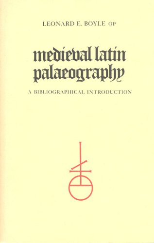 9780802065582: Medieval Latin Palaeography: A Bibliographic Introduction (Mediaeval Bibliography)