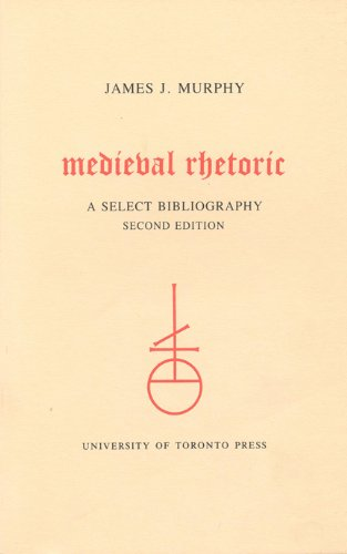 9780802066596: Medieval Rhetoric: A Select Bibliography (Toronto Medieval Bibliographies)