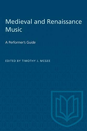 9780802067296: Medieval and Renaissance Music: A Performer's Guide