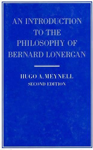 9780802067920: An Introduction to the Philosophy of Bernard Lonergan