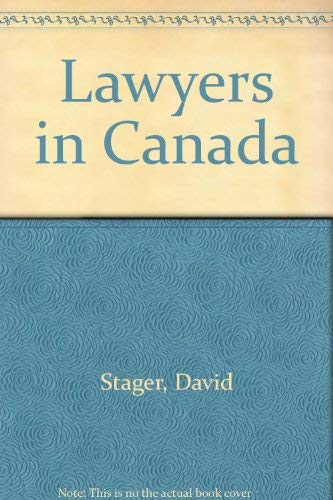 9780802067951: Lawyers in Canada