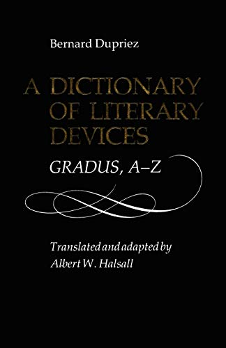9780802068033: A Dictionary of Literary Devices: Gradus, A-Z (Heritage)