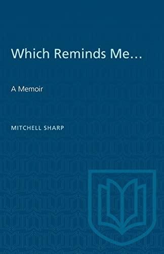 9780802071521: Which Reminds Me: A Memoir