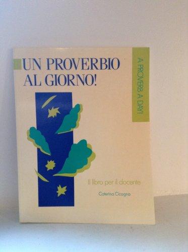 9780802073792: Ita-Proverbio Al Giorno Manual (Reprints in Canadian History) (Italian Edition)