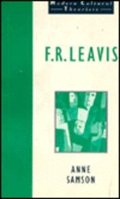 9780802073990: F.R. Leavis (Modern Cultural Theorists)