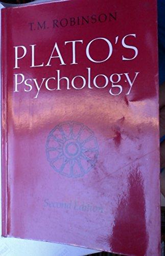 Plato's Psychology: Robinson, T. M.