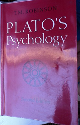 9780802075901: Plato's Psychology: Revised and with a New Introduction (Phoenix)