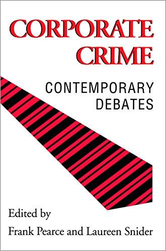 9780802076212: Corporate Crime: Contemporary Debate