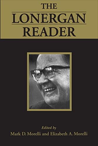 9780802076489: The Lonergan Reader