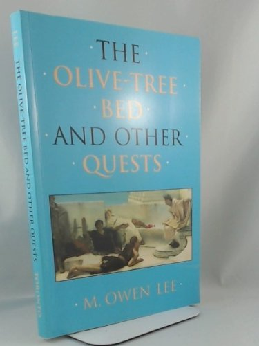 9780802079848: The Olive-Tree Bed and Other Quests (Olive-Tree Bed & Other Quests)