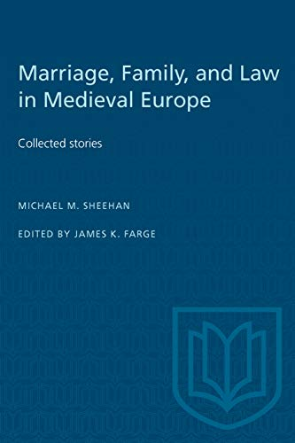 9780802081377: Marriage, Family, and Law in Medieval Europe: Collected Studies