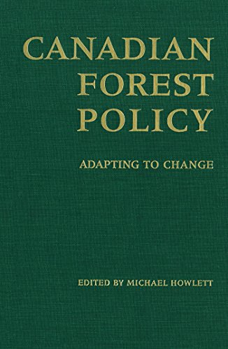 9780802081759: Canadian Forest Policy: Adapting to Change (Studies in Comparative Political Economy and Public Policy)