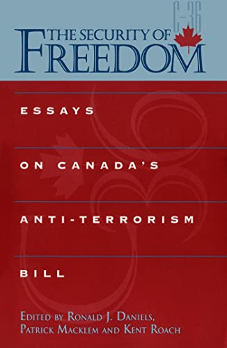 anti terrorism canada essay Terrorism essay papers  the story concerns terrorism and anti-terrorism, focussing on the israeli/palestinian situation, and is full of convolutions and surprises .