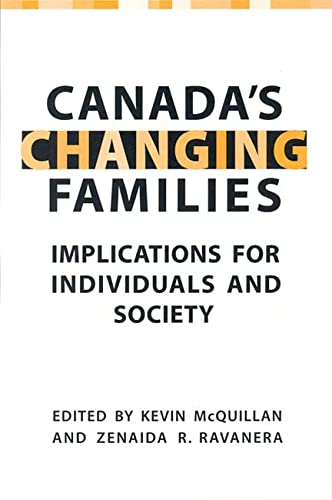 Canada's Changing Families : Implications for Individuals