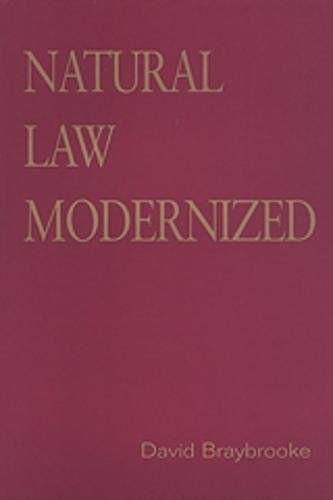 9780802086440: Natural Law Modernized (Toronto Studies in Philosophy)