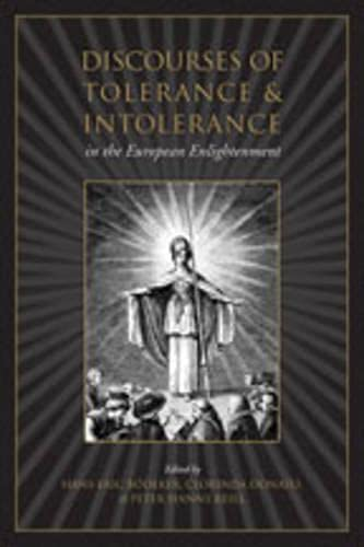 9780802091789: Discourses of Tolerance & Intolerance in the European Enlightenment (UCLA Clark Memorial Library Series)