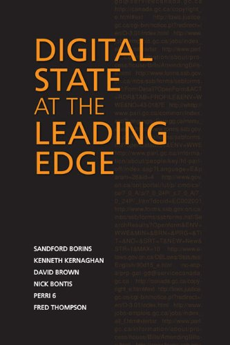 Digital State at the Leading Edge (IPAC: Sandford Borins, Kenneth