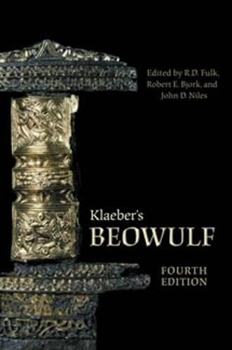 9780802095671: Klaeber's Beowulf, Fourth Edition