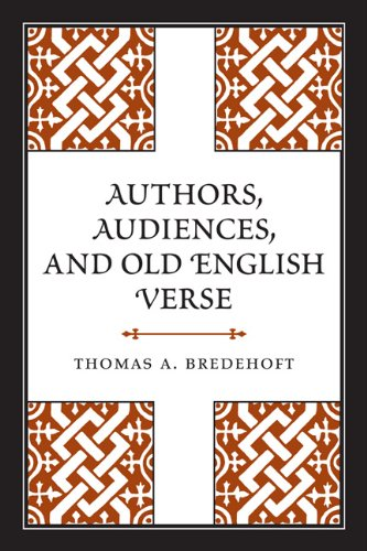 9780802099457: Authors, Audiences, and Old English Verse (Toronto Anglo-Saxon Series)
