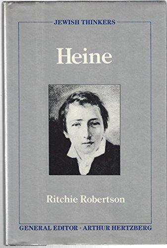 9780802110640: Heine (Jewish Thinkers Series)