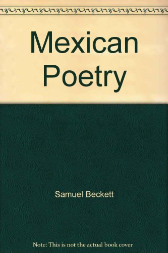 9780802112149: Mexican Poetry