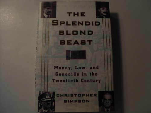 The Splendid Blond Beast: Simpson, Christopher