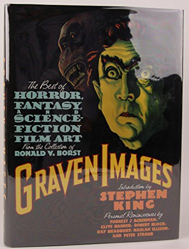 9780802114846: Graven Images: The Best of Horror, Fantasy, and Science Fiction Film Art from the Collection Ronald V. Borst
