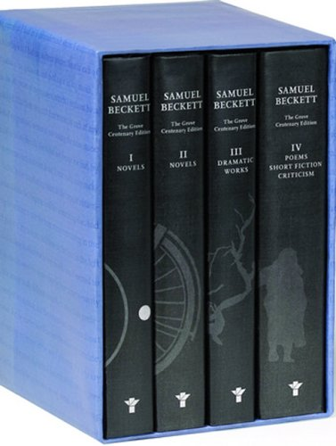 The Grove Centenary Editions of Samuel Beckett Boxed Set Contains Novels I and II of Samuel Beckett...