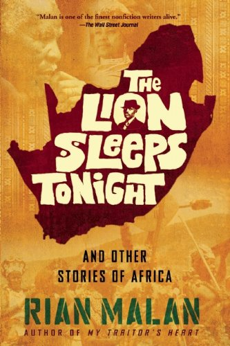 9780802121837: The Lion Sleeps Tonight: And Other Stories of Africa