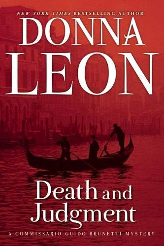 9780802122186: Death and Judgment: A Commissario Guido Brunetti Mystery