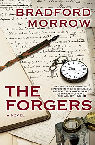 The Forgers (SIGNED BY AUTHOR ON TITLE PAGE)--BRAND NEW PRISTINE UNREAD COPY