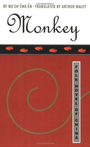 9780802130860: Monkey: Folk Novel of China