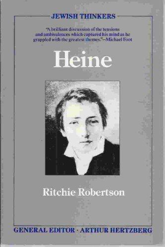 9780802131485: Heine (Jewish thinkers)