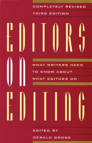 9780802132635: Editors on Editing: What Writers Need to Know About What Editors Do