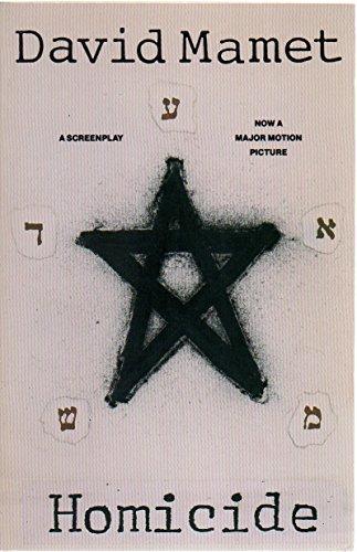 Homicide: A Screenplay: David Mamet