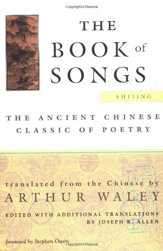 9780802134776: The Book of Songs: The Ancient Chinese Classic of Poetry