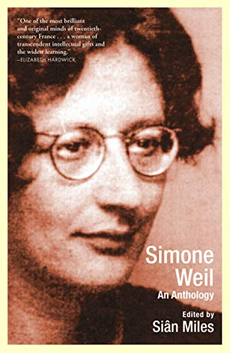 9780802137296: Simone Weil: An Anthology