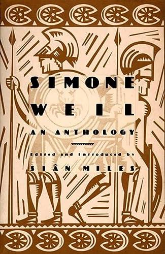 9780802137296: Simone Weil: An Anthology