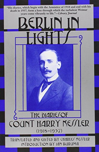 9780802138392: Berlin in Lights: The Diaries of Count Harry Kessler (1918-1937)