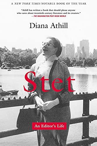 9780802138620: Stet: An Editor's Life
